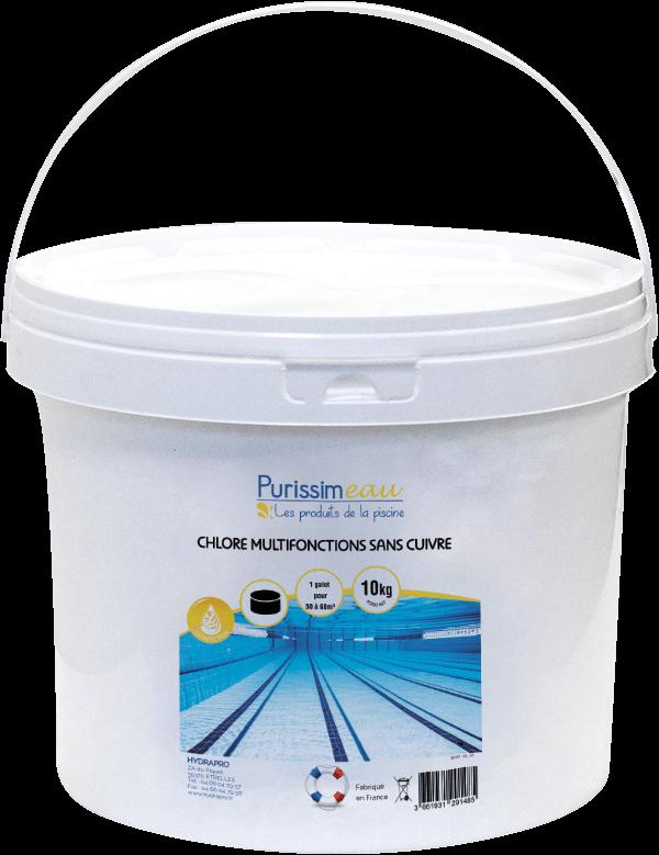 Chlore multifonctions sans cuivre 500 hydrapro - Anti algues piscine sulfate de cuivre ...