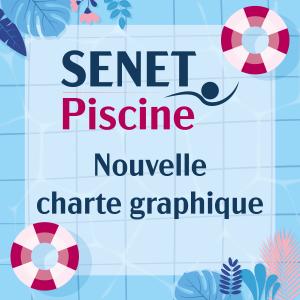 Nouvelle charte graphique Senet Piscine